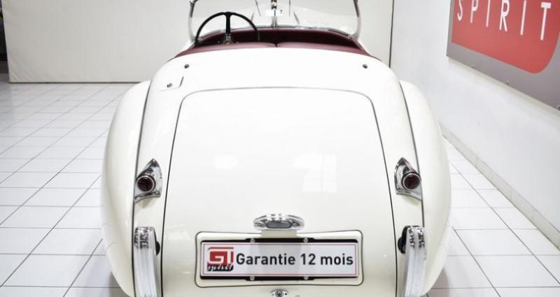 Jaguar XK 120 Roadster Blanc occasion à La Boisse - photo n°6