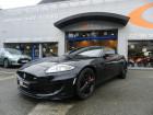 Jaguar XK 5.0 V8 SURALIMENTE Noir à Quimper 29