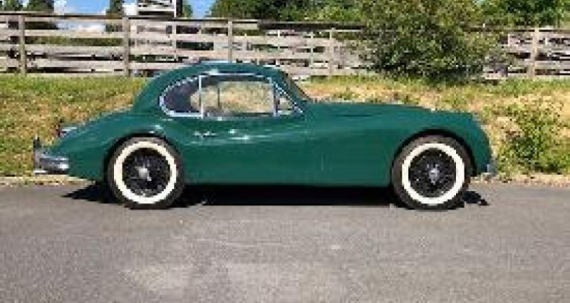 Jaguar XK Coupe Type C 1955  occasion à Puiseux Le Hauberger - photo n°2