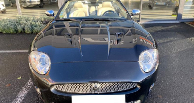 Jaguar XK8 4.2 V8 416 R PORTFOLIO BVA Noir occasion à Grezac - photo n°4