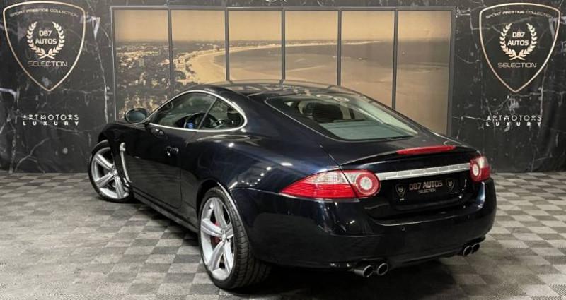 Jaguar XKR V8 4.2 420 ch Portfolio Bleu occasion à GUERANDE - photo n°5