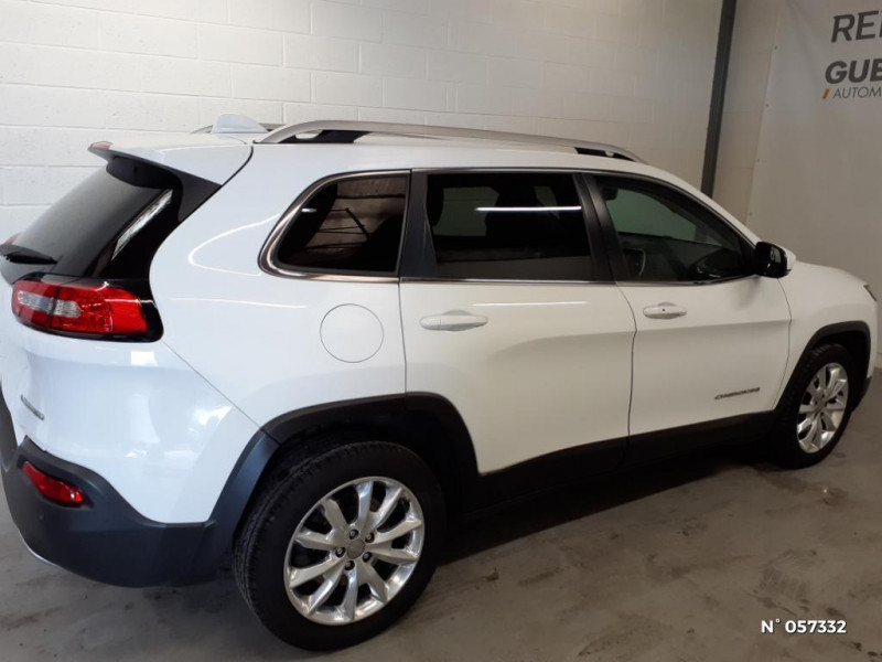 Jeep Cherokee 2.0 MultiJet 140ch Limited S/S Blanc occasion à Eu - photo n°7