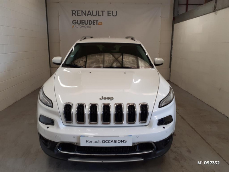Jeep Cherokee 2.0 MultiJet 140ch Limited S/S Blanc occasion à Eu - photo n°2