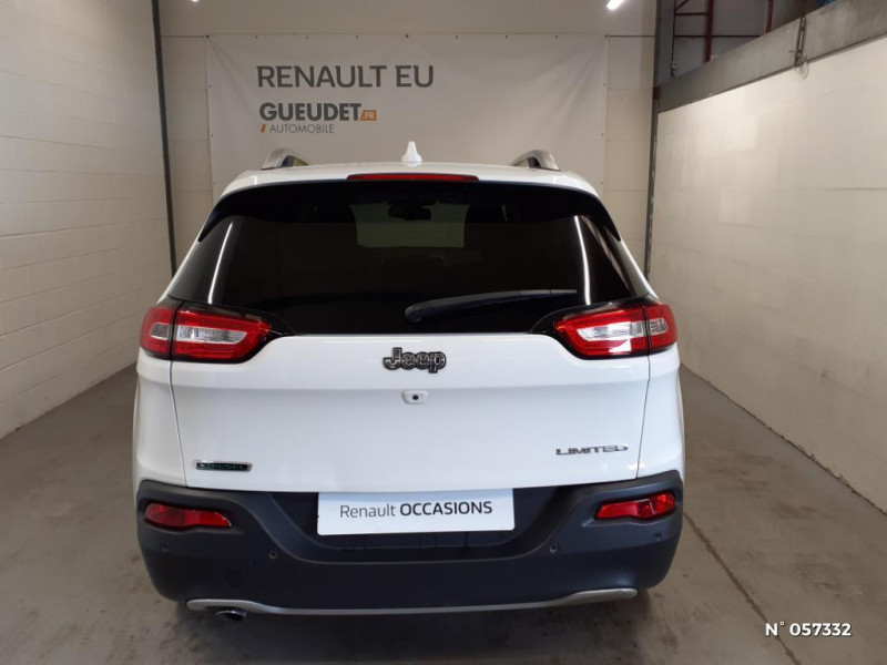 Jeep Cherokee 2.0 MultiJet 140ch Limited S/S Blanc occasion à Eu - photo n°3