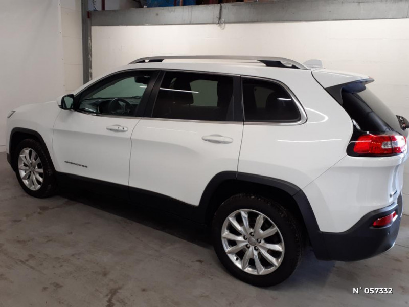 Jeep Cherokee 2.0 MultiJet 140ch Limited S/S Blanc occasion à Eu - photo n°8