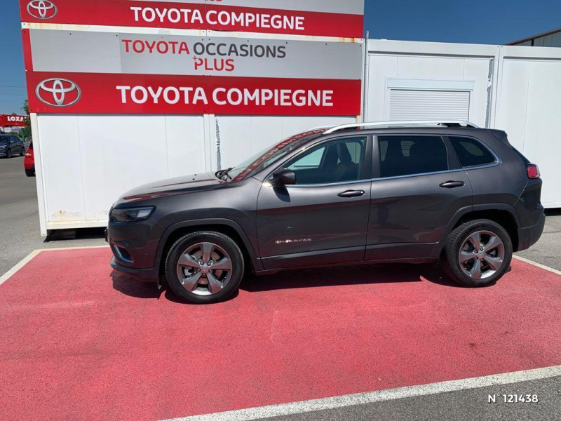 Jeep Cherokee 2.2 MultiJet 195ch S&S Limited BVA9 Gris occasion à Jaux - photo n°8