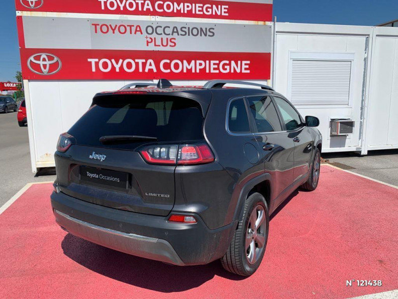 Jeep Cherokee 2.2 MultiJet 195ch S&S Limited BVA9 Gris occasion à Jaux - photo n°6