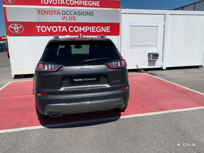 Jeep Cherokee 2.2 MultiJet 195ch S&S Limited BVA9 Gris occasion à Jaux - photo n°3