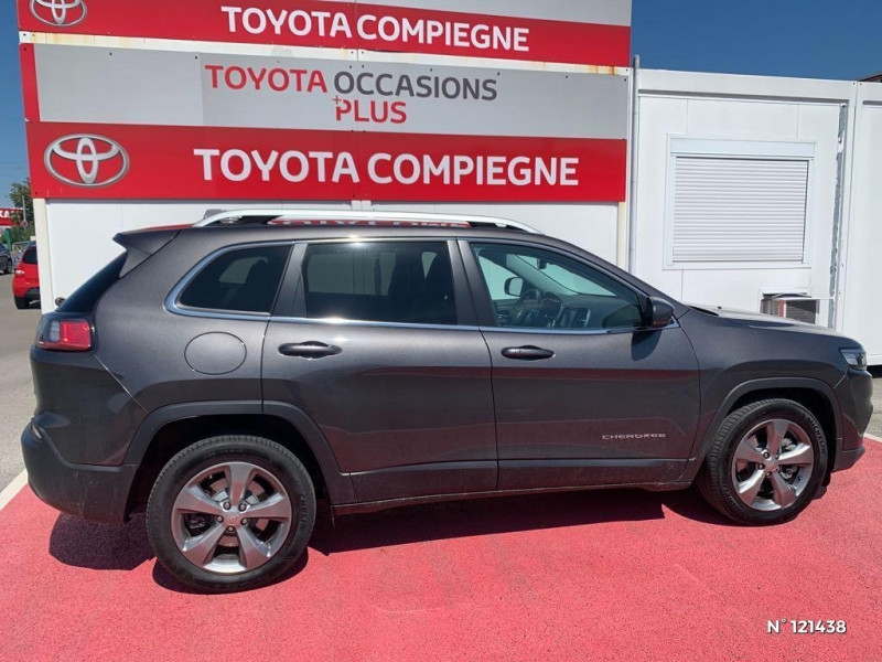 Jeep Cherokee 2.2 MultiJet 195ch S&S Limited BVA9 Gris occasion à Jaux - photo n°7