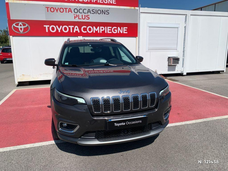 Jeep Cherokee 2.2 MultiJet 195ch S&S Limited BVA9 Gris occasion à Jaux - photo n°2