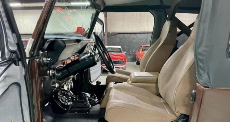 Jeep CJ CJ 4.2l 44 réhausse jante 17p 1985 prix tout compris Marron occasion à PONTAULT COMBAULT - photo n°2