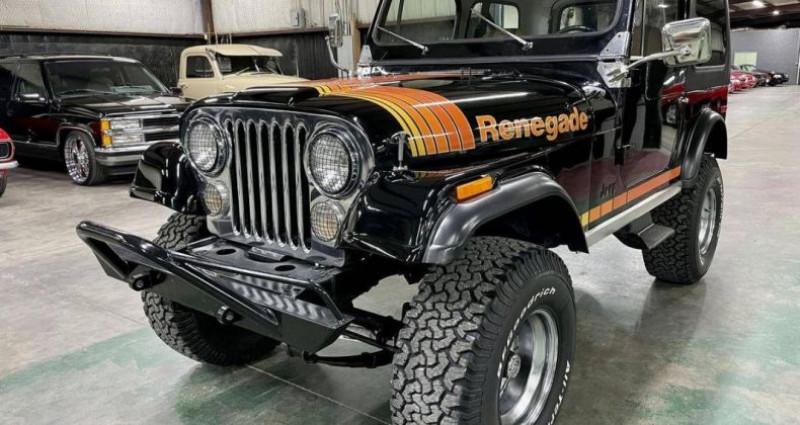 Jeep CJ CJ Renegade 304ci v8 1980 prix tout compris Noir occasion à PONTAULT COMBAULT