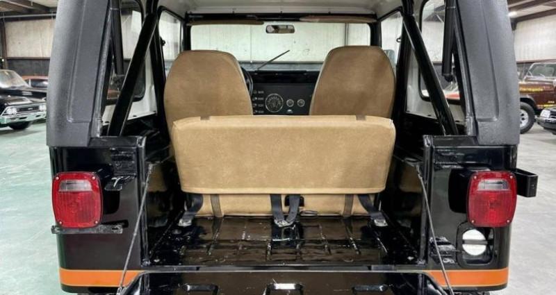 Jeep CJ CJ Renegade 304ci v8 1980 prix tout compris Noir occasion à PONTAULT COMBAULT - photo n°7