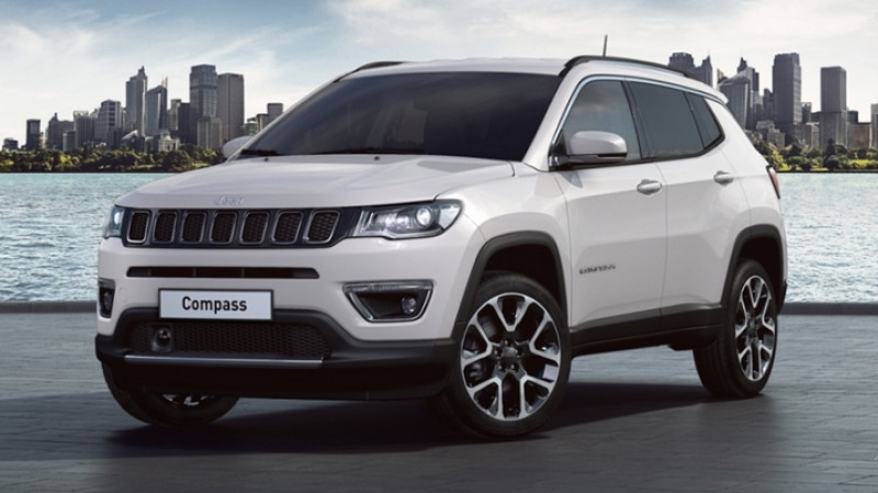 Jeep Compass 1.3 gse t4 130cv 2wd bvm6 limited + pack style 18 + hayon el Blanc occasion à Ganges