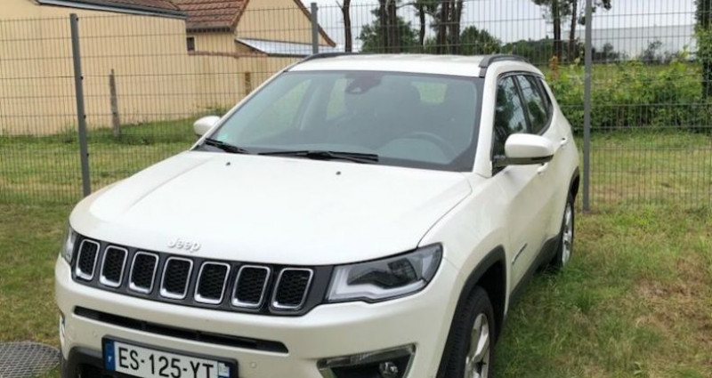 Jeep Compass 1.4 MULTIAIR II 140CH LIMITED 4X2 Blanc occasion à VOREPPE