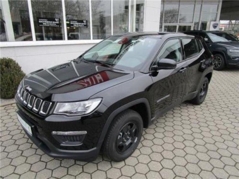 Jeep Compass 1.6 MultiJet 120 ch Noir occasion à Beaupuy