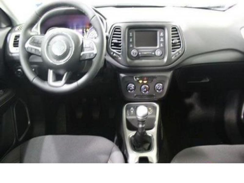 Jeep Compass 1.6 MultiJet 120 ch Rouge occasion à Beaupuy - photo n°2