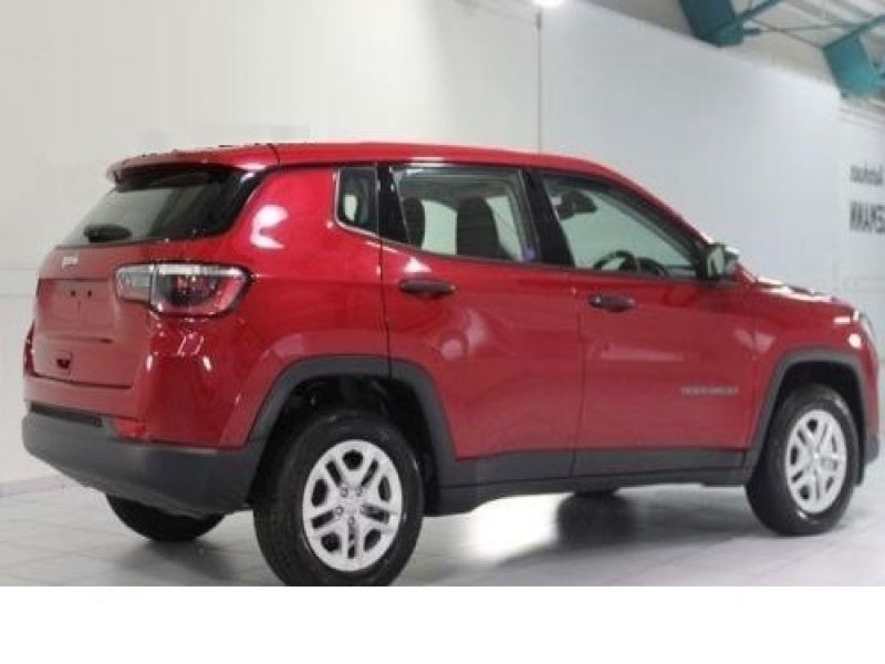 Jeep Compass 1.6 MultiJet 120 ch Rouge occasion à Beaupuy - photo n°3