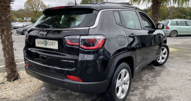Jeep Compass 1.6 MULTIJET II 120CH LIMITED 4X2 117G Gris occasion à GUER - photo n°3