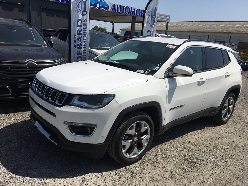 Jeep Compass 1.6 MULTIJET II 120CH LIMITED 4X2 EURO6D-T Blanc occasion à Ibos