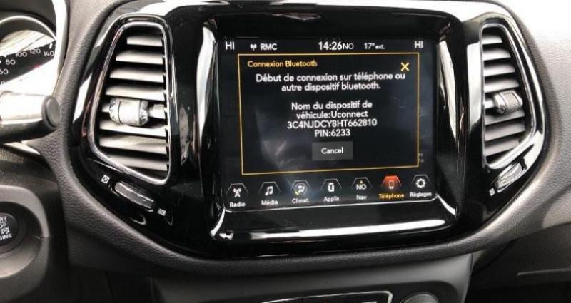 Jeep Compass 2.0 MultiJet II 140ch Limited 4x4 BVA9 Blanc occasion à La Rochelle - photo n°7