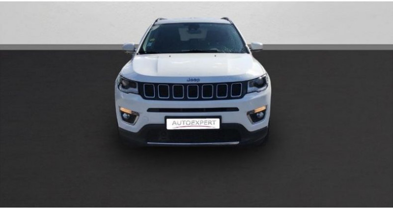 Jeep Compass 2.0 MultiJet II 140ch Limited 4x4 Blanc occasion à BEAUVAIS - photo n°3