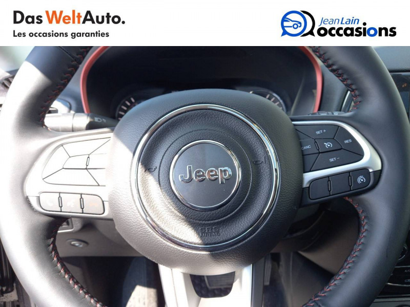 Jeep Compass Compass 1.3 GSE T4 240 ch PHEV AT6 4xe eAWD Trailhawk 5p Gris occasion à Sallanches - photo n°12