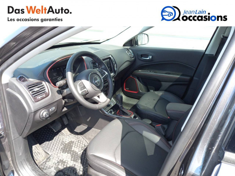 Jeep Compass Compass 1.3 GSE T4 240 ch PHEV AT6 4xe eAWD Trailhawk 5p Gris occasion à Sallanches - photo n°11