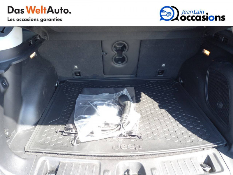 Jeep Compass Compass 1.3 GSE T4 240 ch PHEV AT6 4xe eAWD Trailhawk 5p Gris occasion à Sallanches - photo n°10