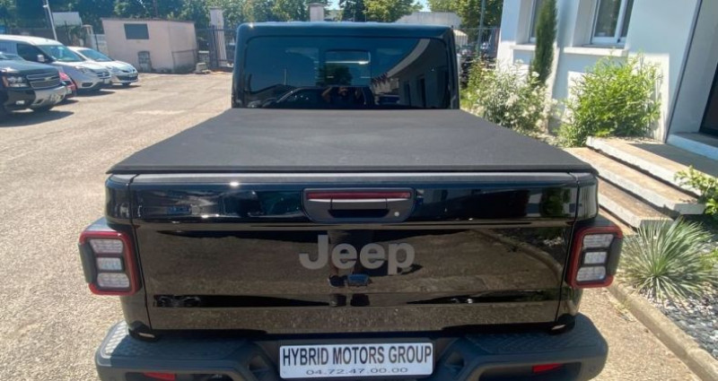 Jeep Gladiator 2021 Overland 3.0L V6 Turbo Diesel bva 8 cuir 76200 ttc Noir occasion à Vénissieux - photo n°6