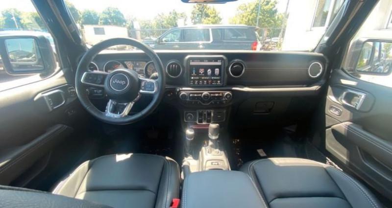 Jeep Gladiator 2021 Overland 3.0L V6 Turbo Diesel bva 8 cuir 76200 ttc Noir occasion à Vénissieux - photo n°7
