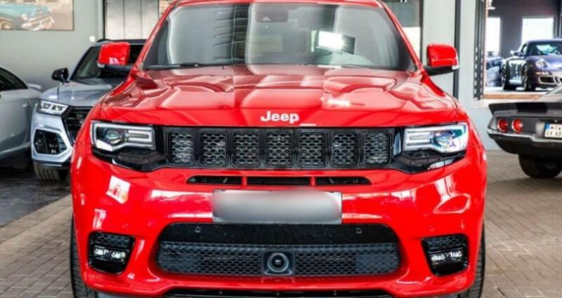 Jeep Grand Cherokee IV 6.4 V8 HEMI 468ch SRT BVA8 Rouge occasion à Boulogne-Billancourt - photo n°2