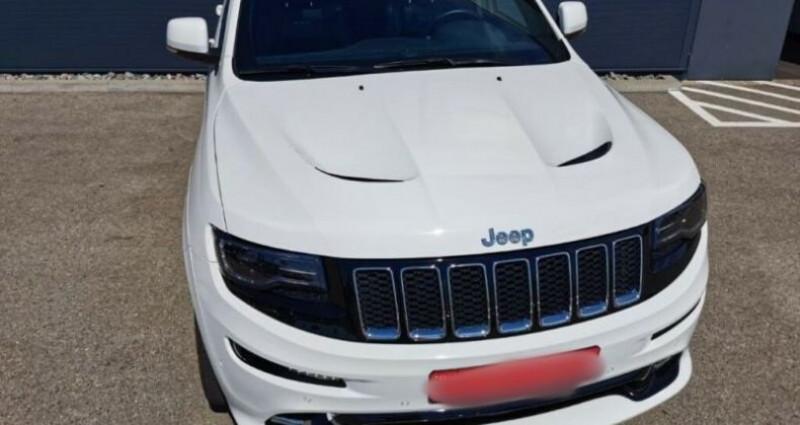 Jeep Grand Cherokee IV 6.4 V8 HEMI 468ch SRT BVA8 Blanc occasion à Boulogne-Billancourt - photo n°2