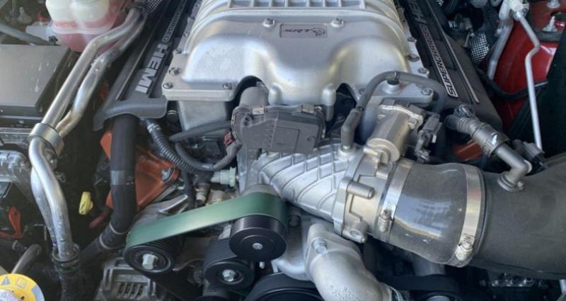 Jeep Grand Cherokee Trackhawk kit Edelbrock 806cv Supercharged Rouge occasion à Meylan - photo n°4