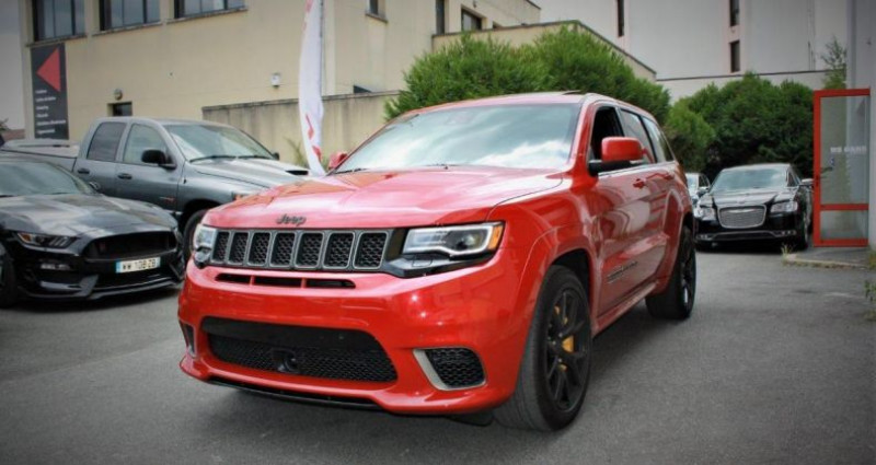 Jeep Grand Cherokee Trackhawk v8 6.2l supercharged awd 707hp us version Rouge occasion à PONTAULT COMBAULT