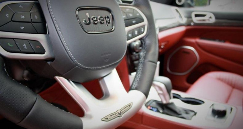 Jeep Grand Cherokee Trackhawk v8 6.2l supercharged awd 707hp us version Rouge occasion à PONTAULT COMBAULT - photo n°2