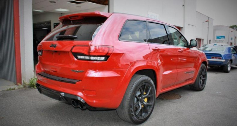 Jeep Grand Cherokee Trackhawk v8 6.2l supercharged awd 707hp us version Rouge occasion à PONTAULT COMBAULT - photo n°6