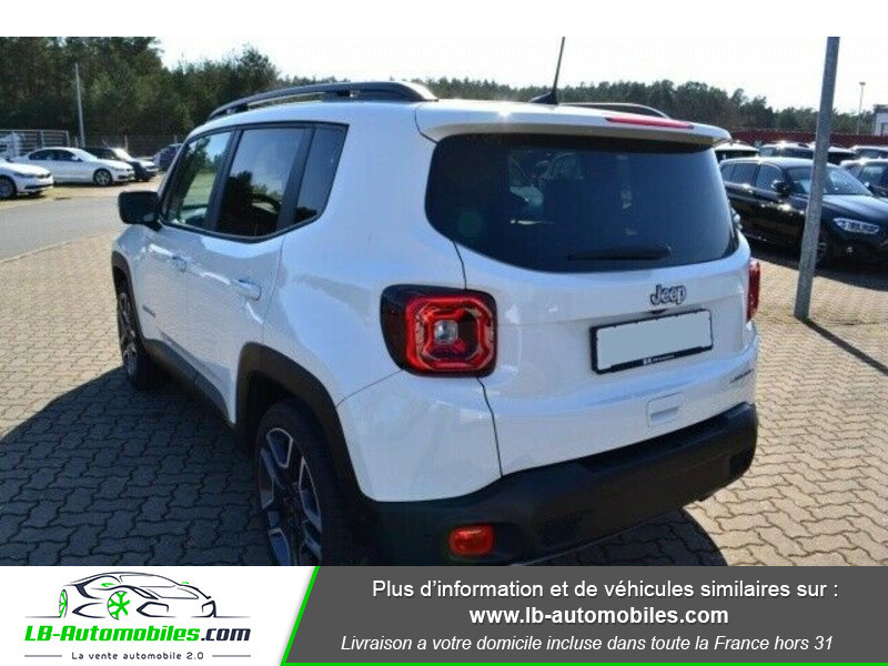 Jeep Renegade 1.0 GSE T3 120 ch 4x4 BVM6 Blanc occasion à Beaupuy - photo n°3