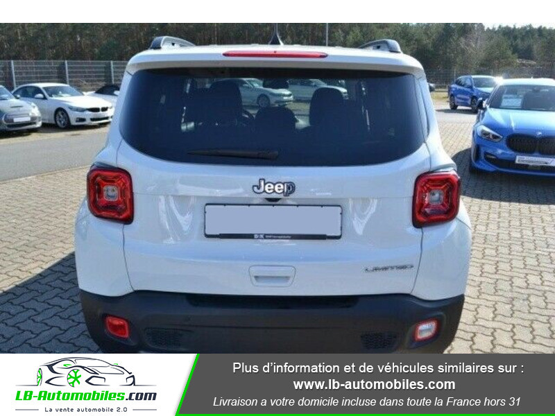 Jeep Renegade 1.0 GSE T3 120 ch 4x4 BVM6 Blanc occasion à Beaupuy - photo n°10