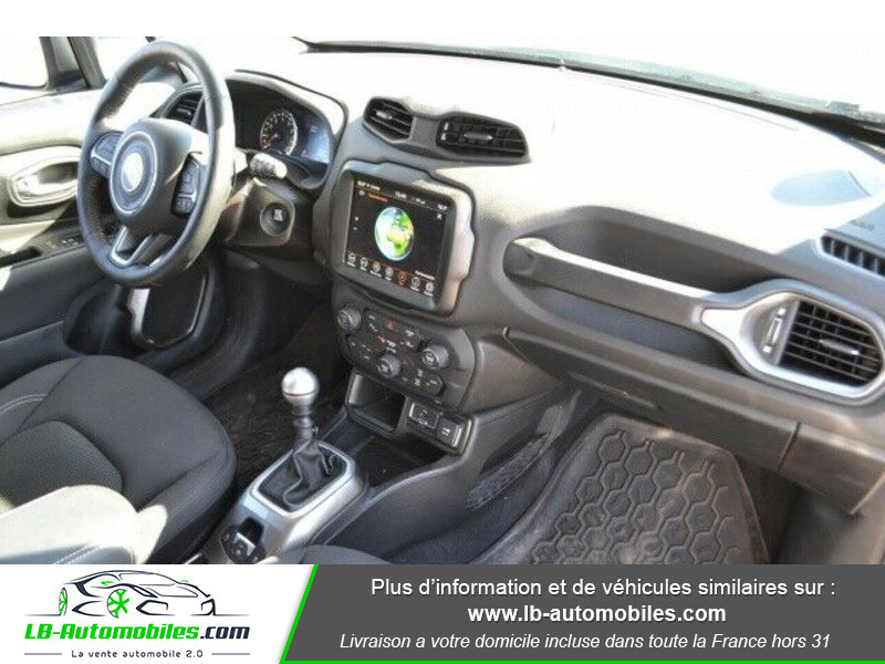 Jeep Renegade 1.0 GSE T3 120 ch 4x4 BVM6 Blanc occasion à Beaupuy - photo n°4