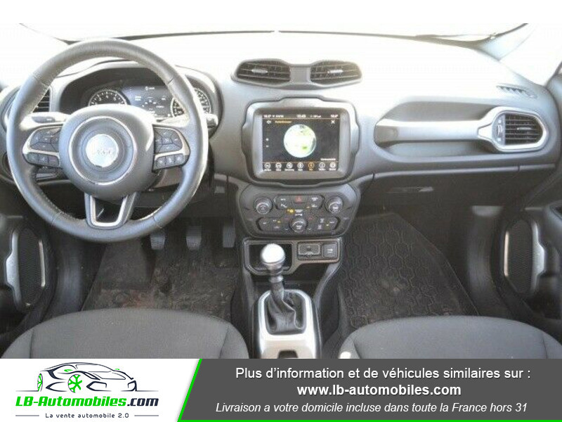 Jeep Renegade 1.0 GSE T3 120 ch 4x4 BVM6 Blanc occasion à Beaupuy - photo n°2