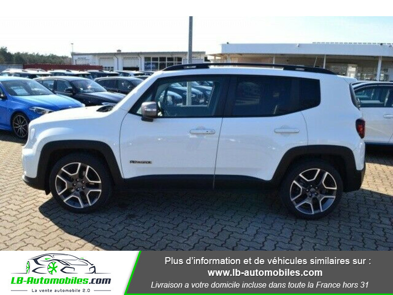 Jeep Renegade 1.0 GSE T3 120 ch 4x4 BVM6 Blanc occasion à Beaupuy - photo n°7