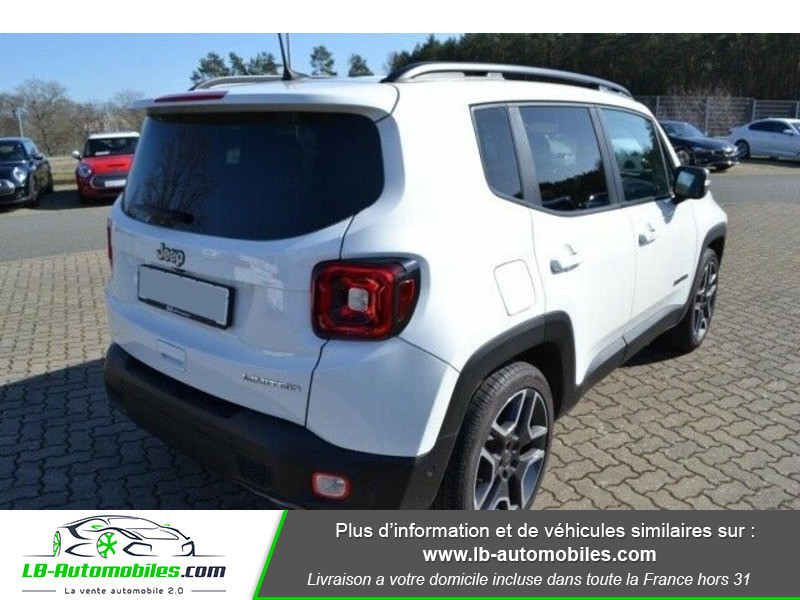 Jeep Renegade 1.0 GSE T3 120 ch 4x4 BVM6 Blanc occasion à Beaupuy - photo n°8