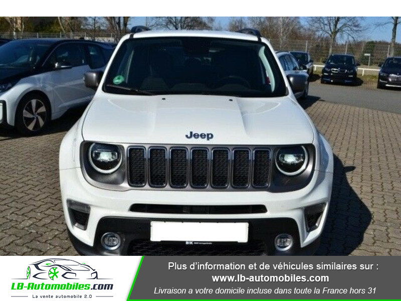 Jeep Renegade 1.0 GSE T3 120 ch 4x4 BVM6 Blanc occasion à Beaupuy - photo n°9