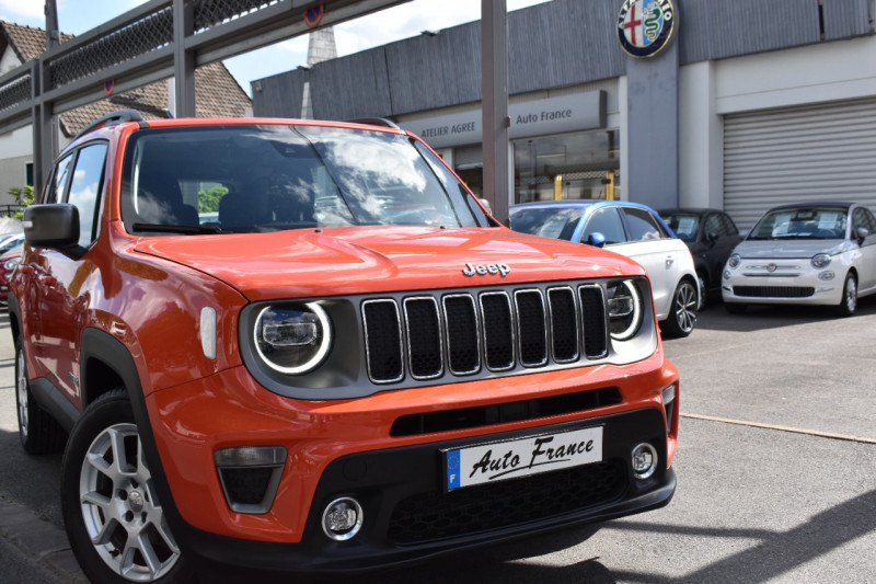 Jeep Renegade 1.0 GSE T3 120CH LIMITED Orange occasion à Neuilly-sur-Marne - photo n°3