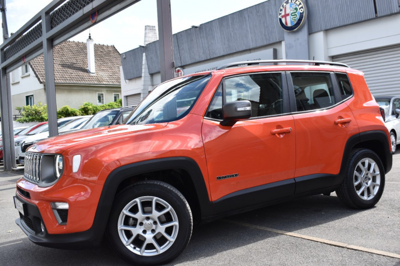 Jeep Renegade 1.0 GSE T3 120CH LIMITED Orange occasion à Neuilly-sur-Marne - photo n°2