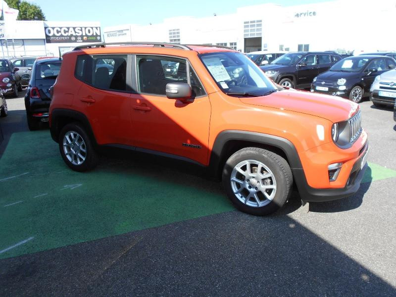 Jeep Renegade 1.0 GSE T3 120ch Limited Orange occasion à Toulouse - photo n°11