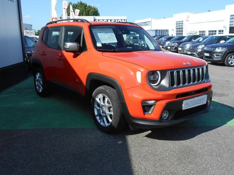 Jeep Renegade 1.0 GSE T3 120ch Limited Orange occasion à Toulouse - photo n°9