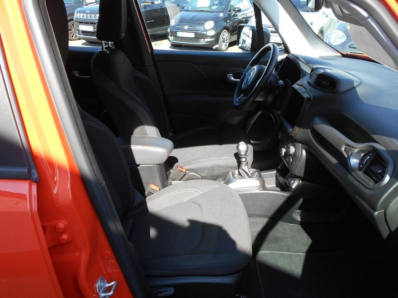 Jeep Renegade 1.0 GSE T3 120ch Limited Orange occasion à Toulouse - photo n°12