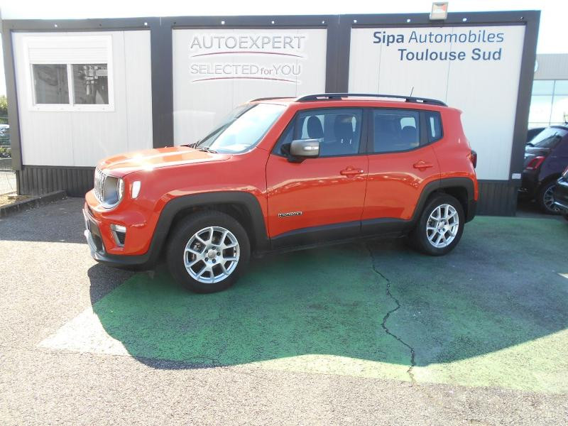 Jeep Renegade 1.0 GSE T3 120ch Limited Orange occasion à Toulouse